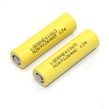 2500mAh 20A Líquido de descarga Lghe4 Batería Li-ion 18650 Batería