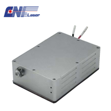 Diode pumped 532nm pulsed laser for lidar