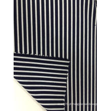 Nylon Spandex Stripe Jersey