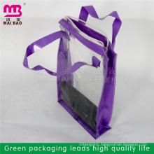 factory custm design printed plastic bags for makeup brushes