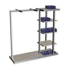 Metal jeans display rack