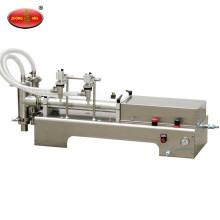 Petite machine de remplissage de liquide à entraînement pneumatique, remplissage de liquide à piston