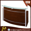 modern paper/veneer receiption table/desk for office