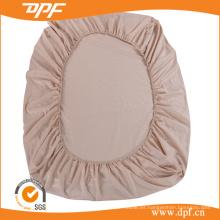 Algodón de algodón armado tejido hoja con elástico en 4 lados (DPF201514)