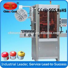 Máquina automática de la manga de la etiqueta de la comida del encogimiento del calor