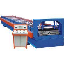 Профилегибочная машина для производства скрытых кровельных панелей из цветной стали