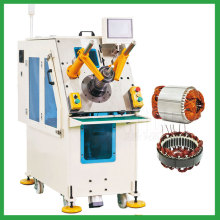 Washing machine motor stator coil insertion machine