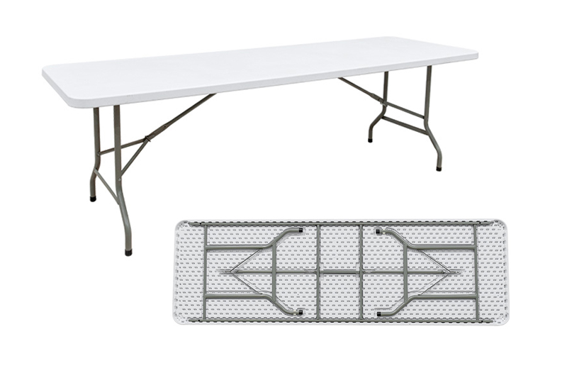 Blow Mould Rectangle Table