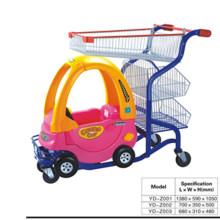 Gut aussehende Kindertrolley mit Baby Car