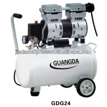 dental equipment CE SGS 30L 850W Noiseless Oil Free Air Compressor