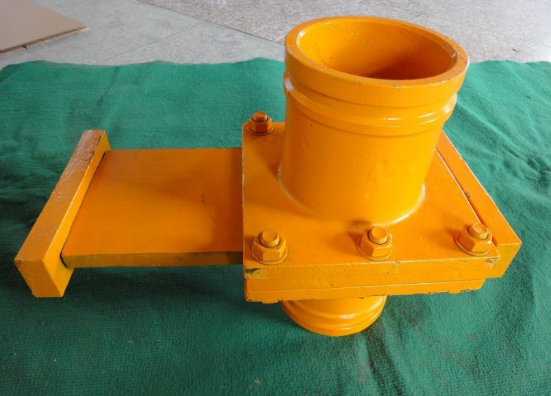 concrete pump manuel cutting valve