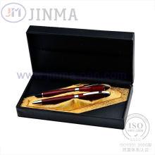 La plus populaire boîte de cadeau avec stylo Super cuivre Jms3019