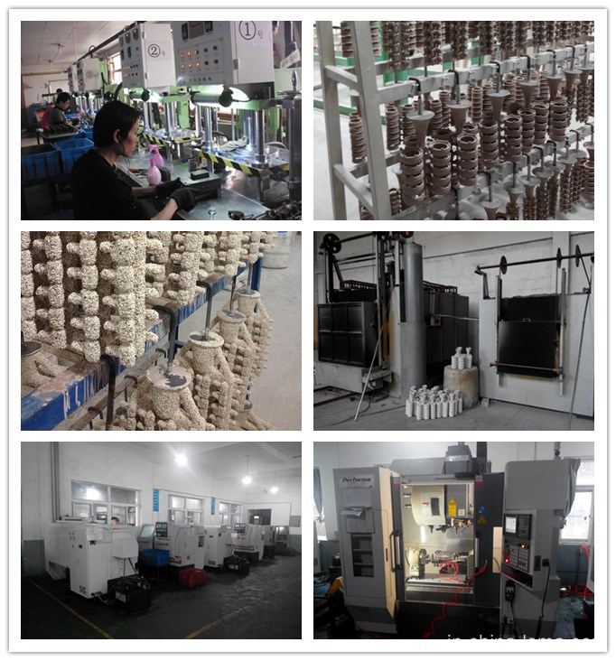 The steel casting process and machining equipment