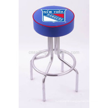 Promotion Chrome Plated Swivel Synthetic Leather cheap bar stools