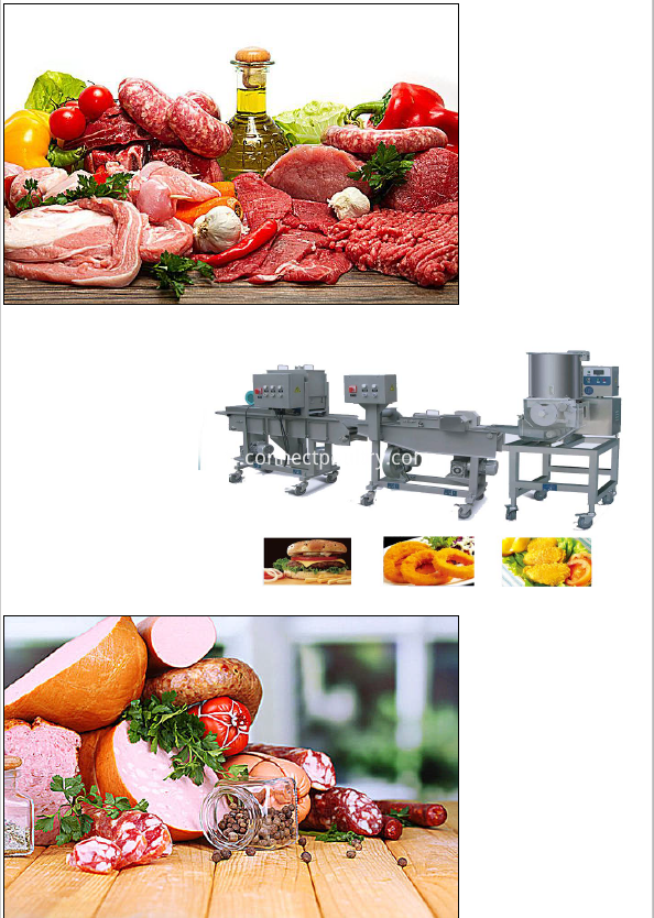 meat further processing machine