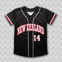Moda personalizado Sublimated Jersey de béisbol