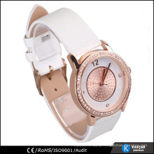 ashimmer rose gold watch, women brand watch wristband