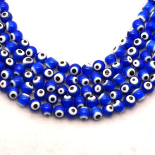wholesale glass round beads dragon beads turkish evil eye beads