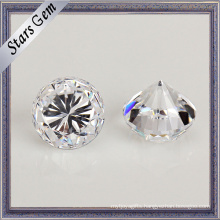 Clear White Heavy Weight Cubic Zirconia