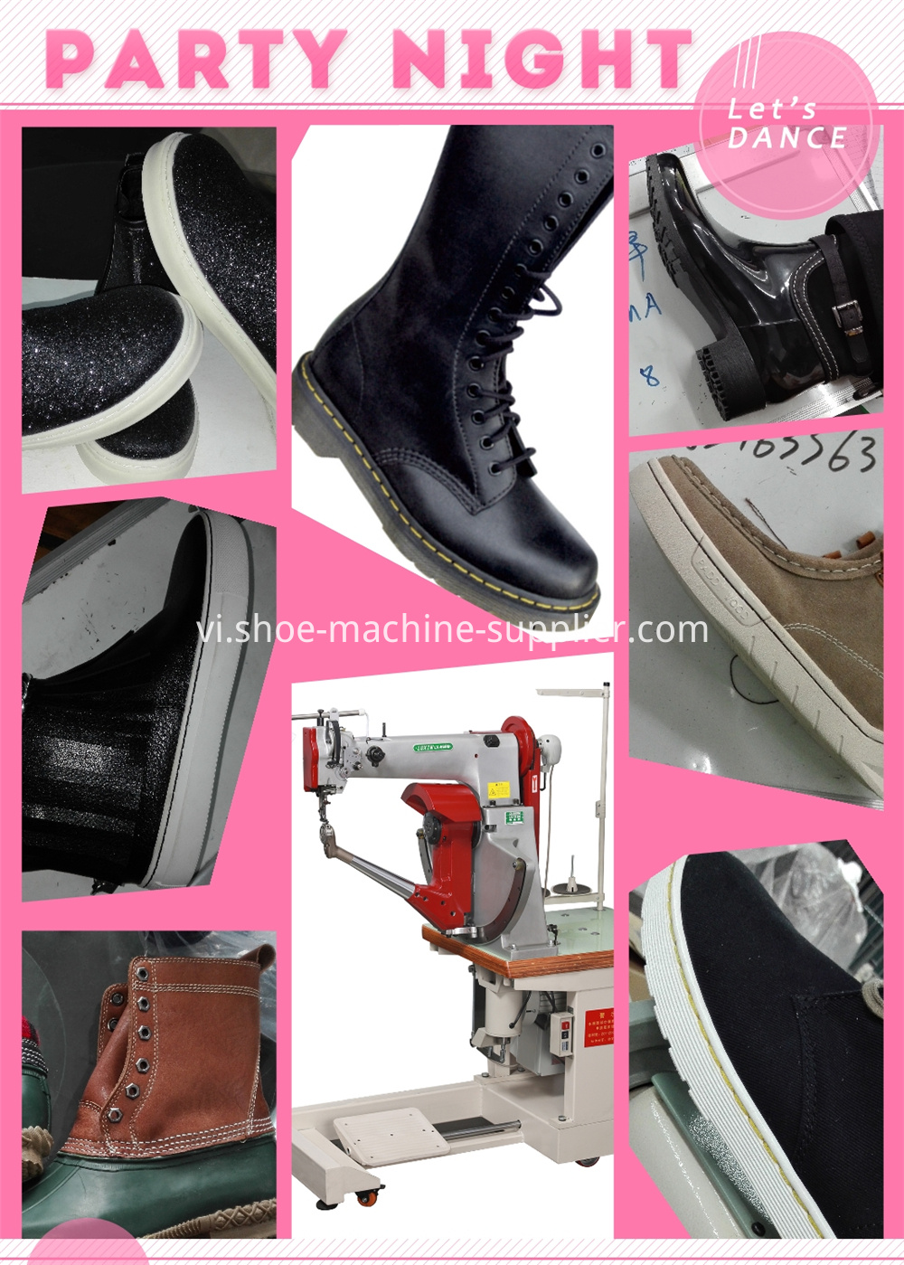 Sewing Machine For Shoes And Bags