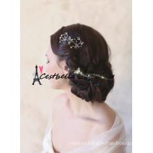 2015 accesorios cristalinos de Hiar del Rhinestone del metal caliente de la venta / accesorios del pelo de la boda