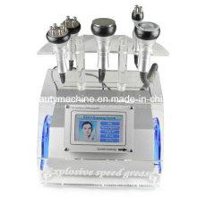5 en 1 máquina de adelgazamiento del RF de la cavitación del contorno del cuerpo que adelgaza