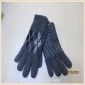 men fleece lining acrylic gloves