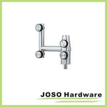Hardware de pivô da curva de montagem de sala de vidro para painel superior (EB001)