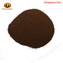 Medios de filtro de arena de manganeso remoce fe y mn