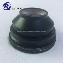 1064nm F-Theta Lens para máquina de marcação a laser de fibra