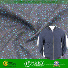Buraco de processamento com tecido poliéster impresso para Men′s jaqueta de corrosão