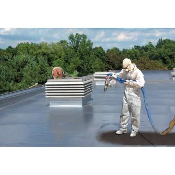 Solvent free polyurea floor