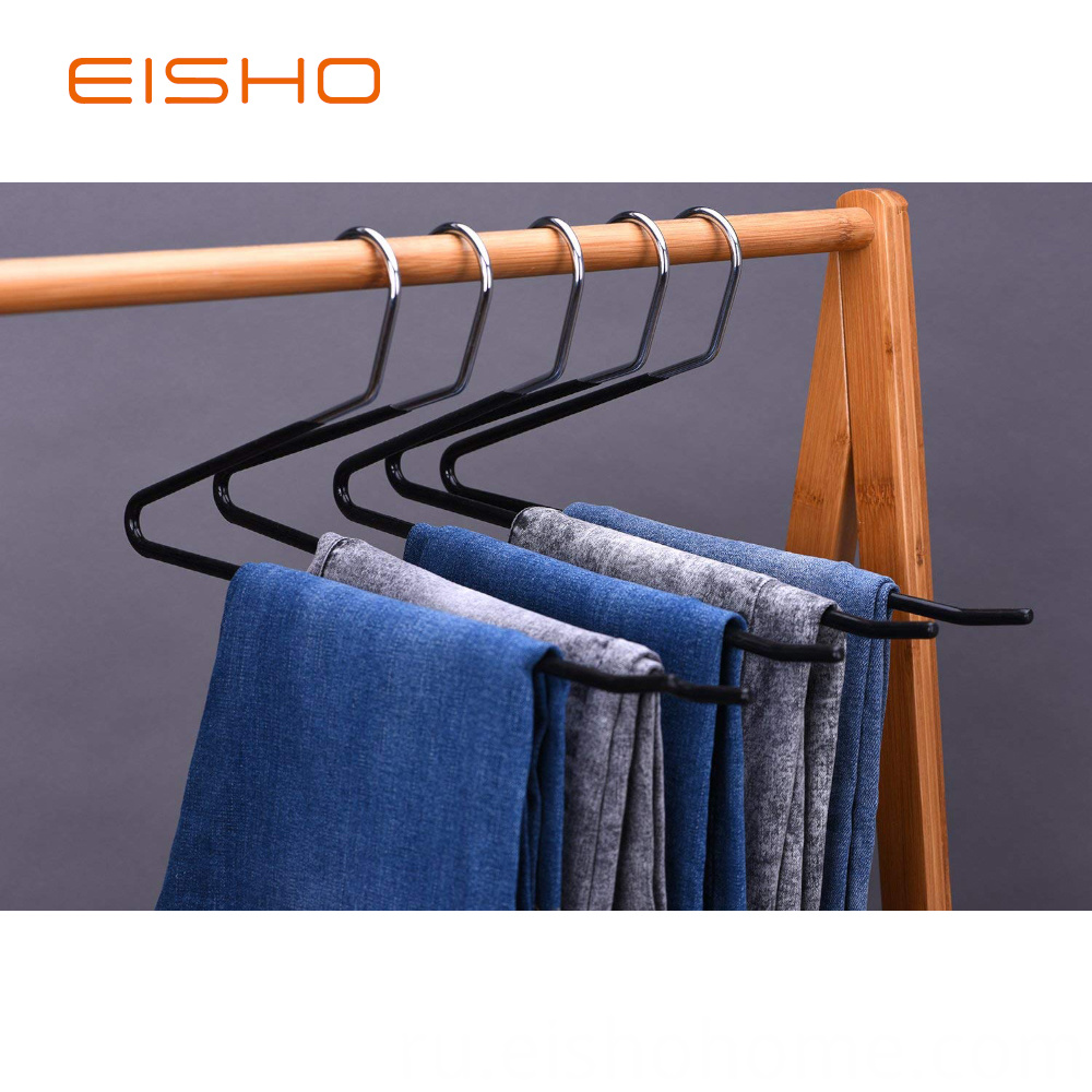 EISHO-wholesale-black-metal-clothes-smooth-PVC11