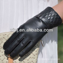 Hotsale Novo marca quente mulheres poliéster lã alinhada luva