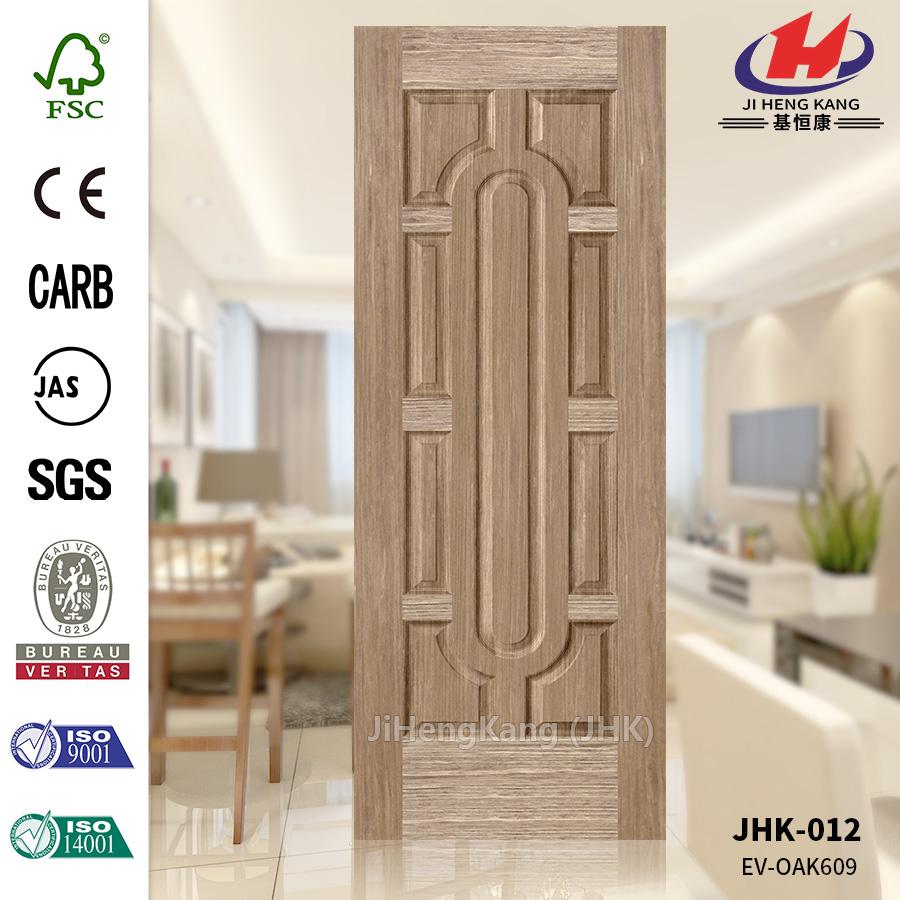 High Quality  Engineered White Oak Oval Door Panel