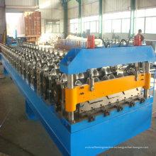 Máquina formadora de rollos de Auto de techos de metal