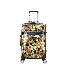 Супер безгласная шаблон PU вагонетки багажа