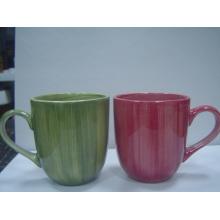 Taza de cerámica de la pintura (CZJM-A-020)