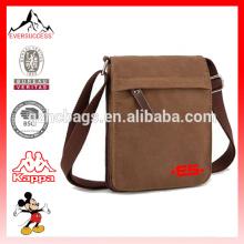 Bolsa de ombro leve saco de lona mensageiro mini saco de lona (es-h508)