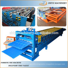 Step-tile Double Decker Panels Roller Former Machine