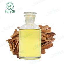 Aceite esencial medicinal de sándalo natural.