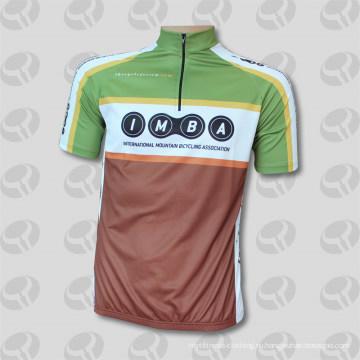 Полная сублимация Новый дизайн пользовательских Велоспорт Джерси