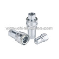 AS-S1-SS close type hydraulic qucik coupling stainless steel