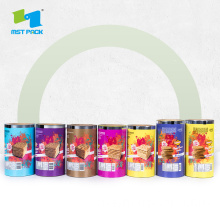 Custom Rolled Plastic Food Packaging Roll Film