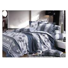 100% Baumwolle 40s 128 * 68 Pigmentdruck Luxus Bettlaken
