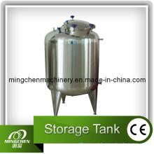 Tanque de armazenamento sanitário de aço inoxidável para indústria de bebidas