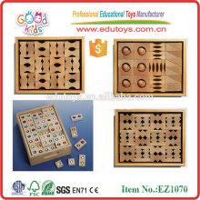 Classroom Wooden Building Blocks Toys