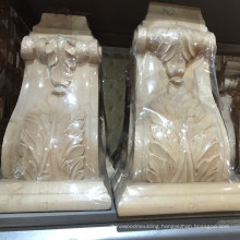 rubber wood corbels