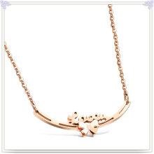 Edelstahl-Schmucksache-Art- und Weiseanhänger-Halskette (NK1027)