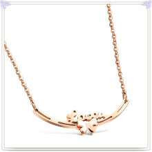 Joyería de acero inoxidable collar colgante de moda (nk1027)